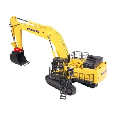 NZG Komatsu PC1250-11 Excavator with Lehnhoff quick coupler & equipment